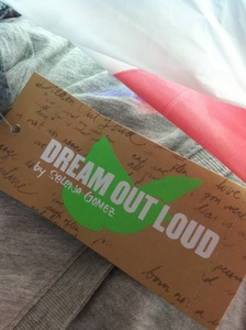 Dream Out Loud because i 爱情 selena gomez and her clothing line is dream out loud