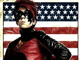 Mine's of Red Mist, a character in the movie Kick-Ass! :D It's awesome!