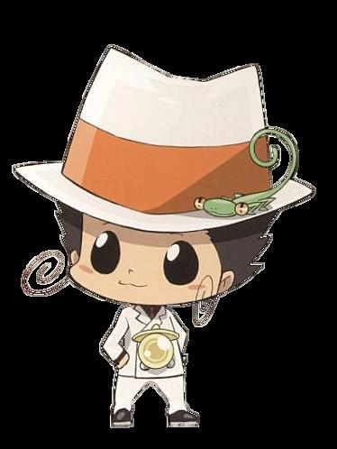 Reborn from Katekyo Hitman Reborn Isn't he just sooooo cute? I 爱情 him. I wanna hug him!! Awwww....