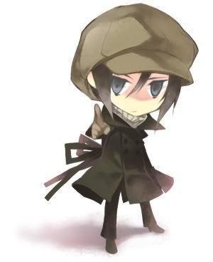 Yoite-kun from Nabari No Ou... I would 爱情 to huggles him...