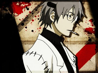 Stein from soul eater <3 <3 <3