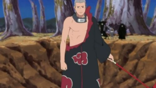 ...Hidan. Does he look like the kind of person te just don't think of?