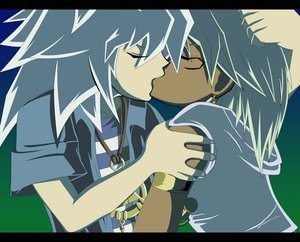 My kegemaran pairing of all time out of every Anime I've watched is Bakura and Marik from Yu-Gi-Oh (Thiefshipping)