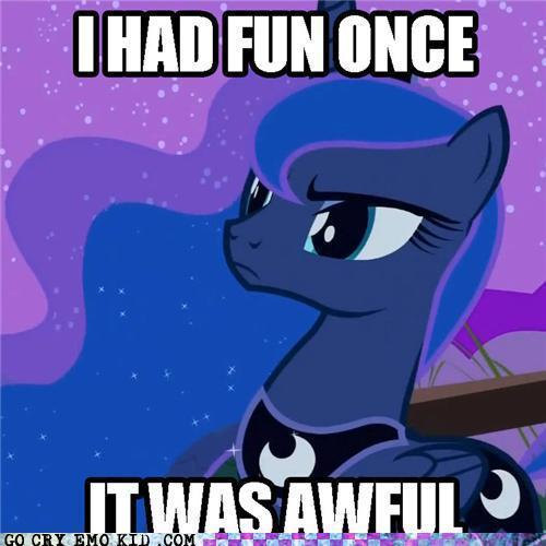 Princess Luna xD >:| THOU ART AMUSED YES?