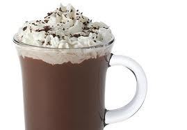 The hot chocolate! Mmmmmmmm...