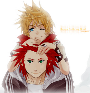 Axel and Roxas from Kingdom Hearts :3 and Yeah for Yaoi!!! haha :D