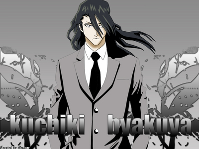Byakuya from Bleach.