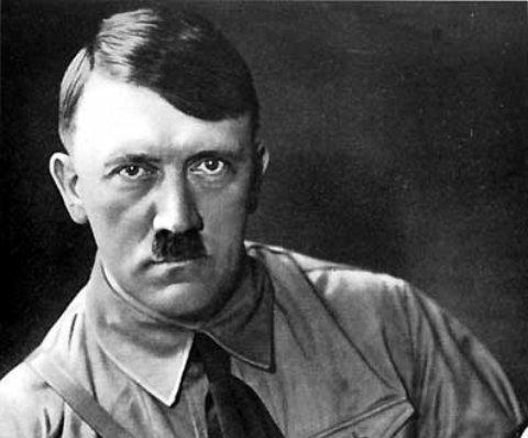 Hitler! (Atention: I dont like him I just find him an interesting psychotic mind...)