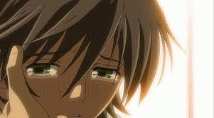 Misaki is crying..:'(