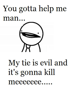 This guy's tie: