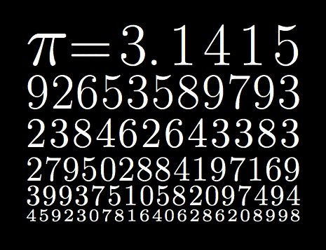 Pi. I'd change Pi. I don't know what I'd change about it, but I'd change it. And the world would never be the same.