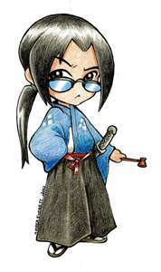 Jin from Samurai Champloo in Chibi style! No, I didn't draw this.