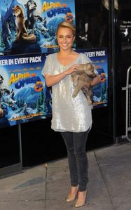 """Hayden Panettiere as Kate in """"Alpha and Omega""""."""
