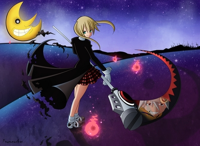 I have many cartoon crushes. One of the most hivi karibuni ones is Maka from Soul Eater.