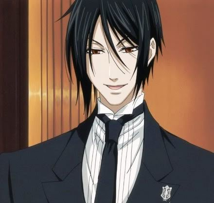 Sebastian Michaelis, I Cinta his hair >3<