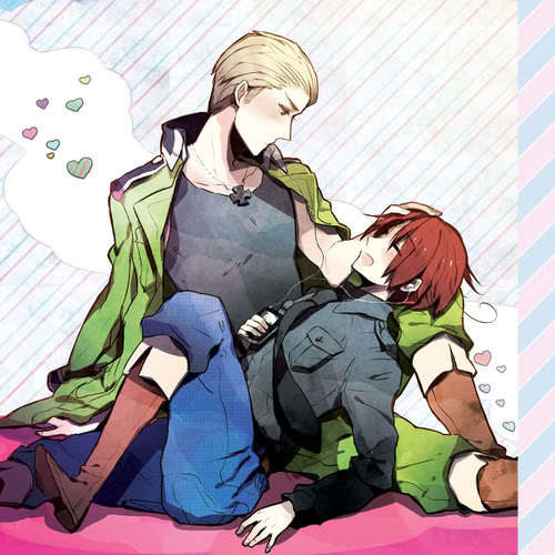 I really Cinta this picture! It's really cute and I Cinta how Germany and Italy are drawn.