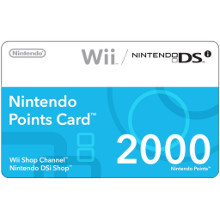 All I want are some Wii Points cards so I can buy some stuff on the Wii negozio Channel myself.