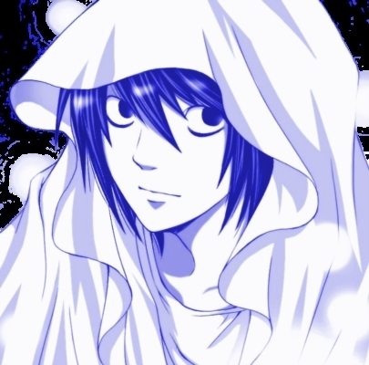 Duh, L! (a.k.a Ryuzaki) ;) Sheesh, where are the l fans??