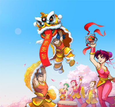 *Presents* Chinese New Year!