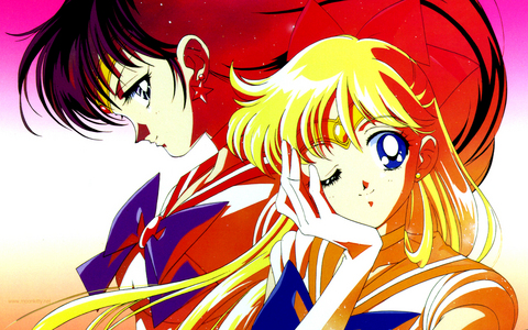 Sailor Mars and Sailor Venus