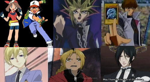 I Have So Many >.< but I'll (try) to make some short..I really like Haruka-chan's Hoenn Outfit (I'm at least entitled to like one of these XD) ,I've always really loved Satoshi-kun's Kanto Outfit (both from Pokemon),I really like Yugi-boy and The Anonymous Pharaoh's as well as Mr.Kaiba's Battle City Outfit!also I really like the Boys Uniforms in Ouran Highschool Host Club!also Ed's outfit from FMA is pretty awesome as well and finally Sebastian's outfit from Kuroshitsuji..It's epic..even though it's a general butler outfit!..but anyway I really hope this wasn't too long!..I'm really sorry if it was!