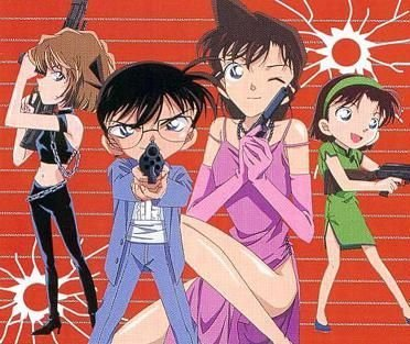 My পছন্দ picture is Detective Conan. Their outfits are cool.