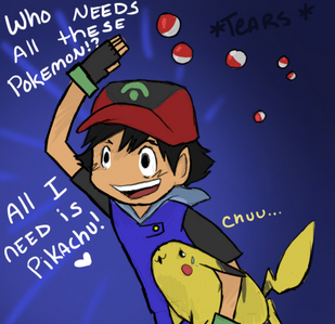 ash of course