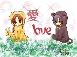Gakuen alice Natsume and Mikan!