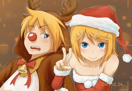 post a pic of a anime girl/boy in a christmas costume - Anime ...