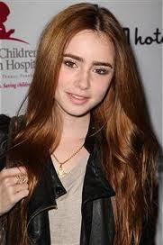 People say I'm a mixture of Lily collins and Kstew. LOl