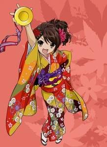 I find it cute when they use a kimono. I want to try it because it looks very nice :)