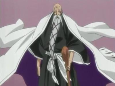 Captain Yamamoto from Bleach