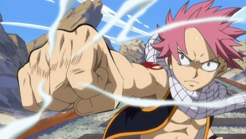 Natsu from Fairy Tail! >:D