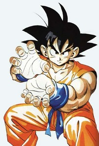 To me, it's always been গোকু from Dragon Ball Z. Any of his forms will work too =D