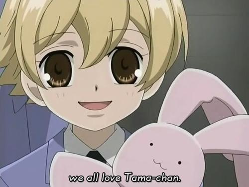 Honey senpai from Ouran High School Host Club.