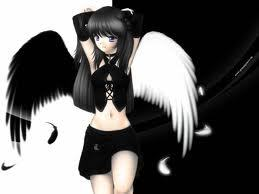 Name: Aiko Sougo Abilities:expert gunman and sword fighter Age: 16 Personality:happy on the outside but sad on the inside Race:demon Relatives: unknown if deceased History: she came from a broken home.father was alcoholic, abusive, gambler, and a rapist.mother was a complete whore and didn't care what she did.One दिन her father लॉस्ट a ton of money from a mysterious company.the company कहा if he didn't it would be his life.so the first thought he thought was Aiko. he told his wife and she i don't care as long as she gone i'm good. So Aiko was traded at the the age of 7. to a assassination company.there she learned how to kill and become the best of the best but there was man who was very jealous and deiced to kill. so in night he came in and stabbed her 20 time in the stomach and fled in the night forever.barely alive she hears a deep voice in the dark saying child do आप want revenge do आप want to live. without a सेकंड thought she कहा yes द्वारा doing that she had grown wings and tremendous power. the first thing she did was i want them dead i want them all dead. from that moment she had embarked on a journey to kill those who have did wrong to her. Hair Color: black Eye Color: one black one white Clothes: picture and she wears a long black trench कोट Other: ironic her name translates to प्यार child, she plays गिटार when, shes happy plays violin when shes sad, loves sweets, and secretly wears glasses.