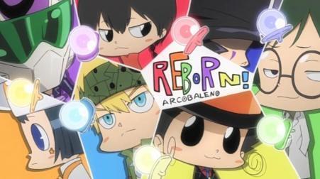 The arcobaleno babies <333