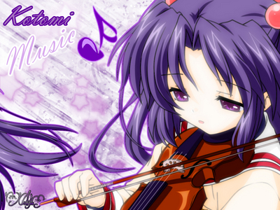 Kotomi - Clannad Eventualy she learns how to play. EVENTUALY lol