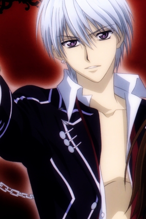 i like zero kiryuu from vampire knight..................