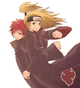 naruto: deidara and sasori *red head* ~i Cinta those two~ ^^