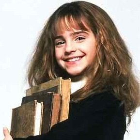I'm always loved to be HERMIONE.