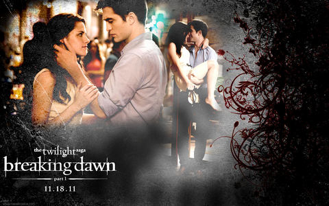 My پسندیدہ scene in Breaking dawn is the honeymoon scene and the wedding scene, I loved watching Bella and Edward be so happy and playful towards eachother!!!<3
