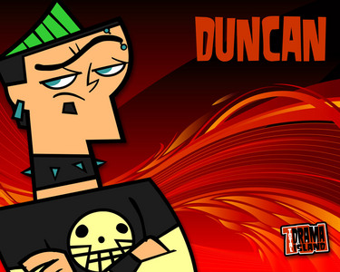 The girls in my Science classes call me Duncan for 2 reasons: 1. There's a girl in my Science classes with the same name as me 2. Duncan's my fave TDI character.