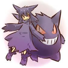 I'm a girl, and I LOVE Pokemon! My fave is Gengar! 