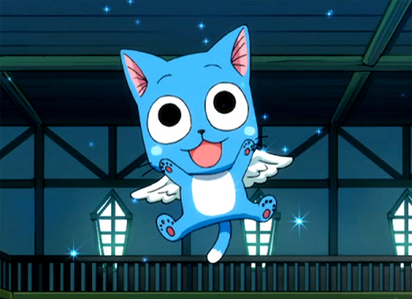 AYE SIR! Happy from Fairy Tail