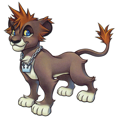 Sora in his lion form from Kingdom Hearts 2 ^_^