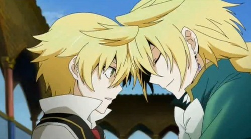 Oz and Jack from Pandora Hearts