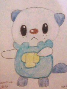 I'm a girl and I think Pokémon is awesome! My favorite is Oshawott! X33 Heres a drawing I did, of him/her!