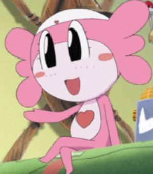 Sumomo (From SGT. Frog) I hate her!! She's pink!!! I hate the colour Pink!!!! It's so disgusting BLEK BLEK BLEK!!! I called her D.U.M.B. C.R.A.P. Dorky Useless Moron Boring Crazy Rubbish Annoying Pointless Oh yeah almost finish with this Dummy Pinky dorky stupid, BLEK BLEK BLEK BLEK BLEK. *Disgusted*