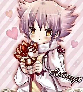 Atsuya with his crêpes